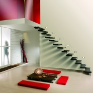 escalier suspendu sur mesure en essonne 91. Black Bedroom Furniture Sets. Home Design Ideas